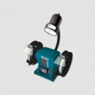 Elektrická dvoukotoučová stolní bruska XT107150 150mm/300W + svítidlo 40 W - náhrada P9444