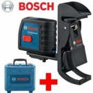 Křížový čárový laser GLL 2-15 Professional + BM 3 + kufr