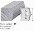 SP profilový nůž 08 Pilana