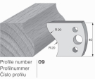 Omezovač profilového nože 09 Pilana
