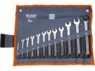 Klíče očkoploché, sada 12ks, 6-7-8-9-10-11-12-13-14-17-19-22mm