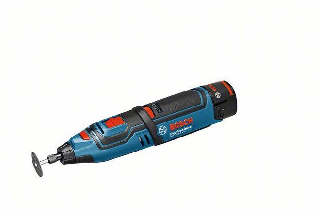 Akumulátorové rotační nářadí Bosch GRO 10,8 V-LI Professional / bez akumulátoru a nabíječky
