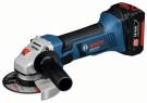 Akumulátorová úhlová bruska Bosch GWS 18-125 V-LI Professional / 2 akumulátory 4,0 Ah