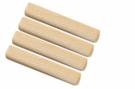 Spojovací nábytkový kolík dřevěný vroubkovaný  10 x 35 mm. Balení 50 ks