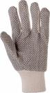 Textilní šité pracovní rukavice OLIE
