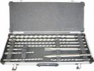 Makita D-19174 10 dílná sada sekáčů a vrtáků SDS+