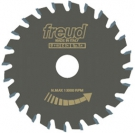 Pilový kotouč Freud předřez kónický určený pro řezání ve formátovacích i dělících pilách LI25M31FA3 125 x 3,1 / 4,3 x 20 - 24 z