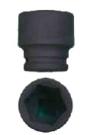 """Gola 3/4"""" průmyslová hlavice rozměr 34 mm"""