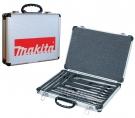 17 - dílná sada vrtáků a sekáčů SDS+ Makita D-21200