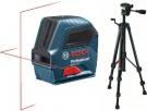 Křížový laser + stativ Bosch GLL 2-10 + BT150