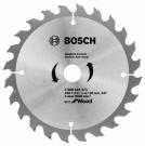 Pilový kotouč na dřevo Bosch Eco for Wood 160x2,2/1,4x20 24 zubů 2608644373