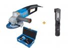 Úhlová bruska s TEMPOMATEM Narex EBU 15-16 C (T-Loc) + Multifunkční SLIM LED svítilna FL LED 3 M