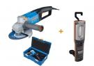 Úhlová bruska s TEMPOMATEM Narex EBU 15-16 C (T-Loc) + Multifunkční FLAT LED svítilna FL LED 10 M