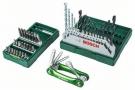 X-Line sada Bosch (2607017333) 15 ks vrtáků + 25 ks bitů + bonus produkt sada imbus