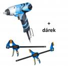 Rázový utahovák Narex ESR 500 T-Loc + Rychloupínací svěrky RSX 300-85 DOUBLE SET