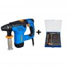 EKS 3 Instalační sekací kladivo CVS Narex+Sada profesionálních šroubovacích nástavců 73-tool Micro