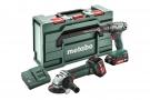 Metabo Combo Set 2.4.3 18 V BS 18 + W 18 LTX 125 Q Akumulátorové stroje v sadě (685082000)