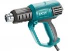 Pistole horkovzdušná s plynulou regulací teploty a proudu vzduchu, 2000W EXTOL - 8794800