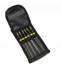 Sada pilníků zámečnických 160 mm 6-dílná Proteco 10.15-9000